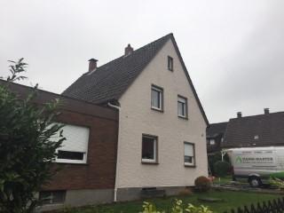Einfamilienhaus mit EPS Granulat gedämmt