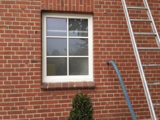 Bauernhof / Doppelschaliges Mauerwekt mit Steinwolle WLG 039 ausgeblasen