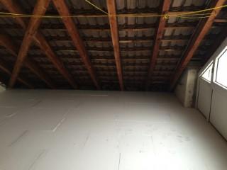 Betondecke fertig verlegt mit Styropordämmung in 160mm Stärke