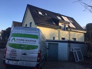 Einfamilienhaus mit ungedämmter Kellerdecke