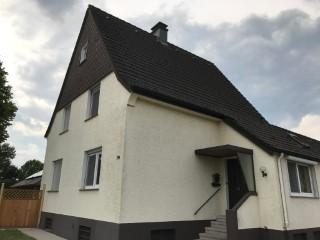 Einfamilienhaus mit kalter Fassade, Luftschicht 8cm