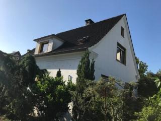 Einfamilienhaus mit Knauf Supafil komplett ausgeblasen