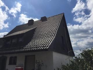 Einfamilienhaus mit ungedämmter Dachschräge