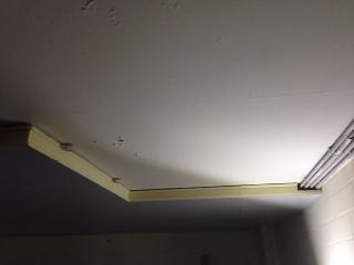 Beton-Kellerdecke mit Hochleistungsdämmplatten WLG 024 gedämmt